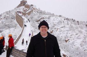 Mark at Great Wall