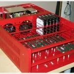 Backblaze Storage Pod, partially assembled