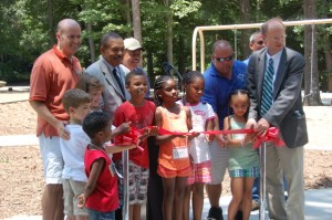 Lions Park Playground Dedication