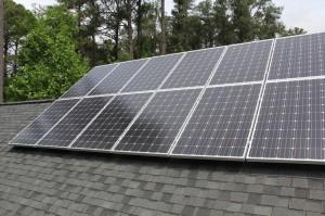 Solar PV deck