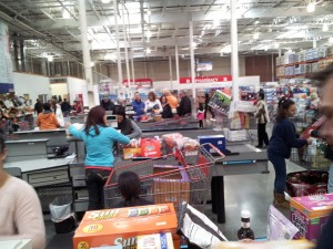 Coasting through Costco's checkout