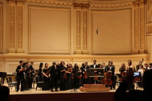Ligon Middle School performs at Carnegie Hall