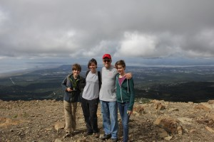 At the top of Flattop Mountain!