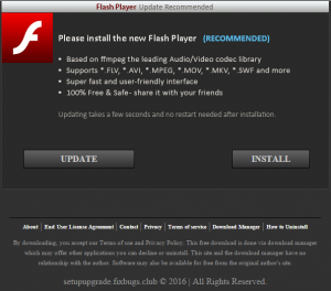 setupupgrades.fixbugs.club is now distributing Adobe Flash. Seems legit, right? :-)