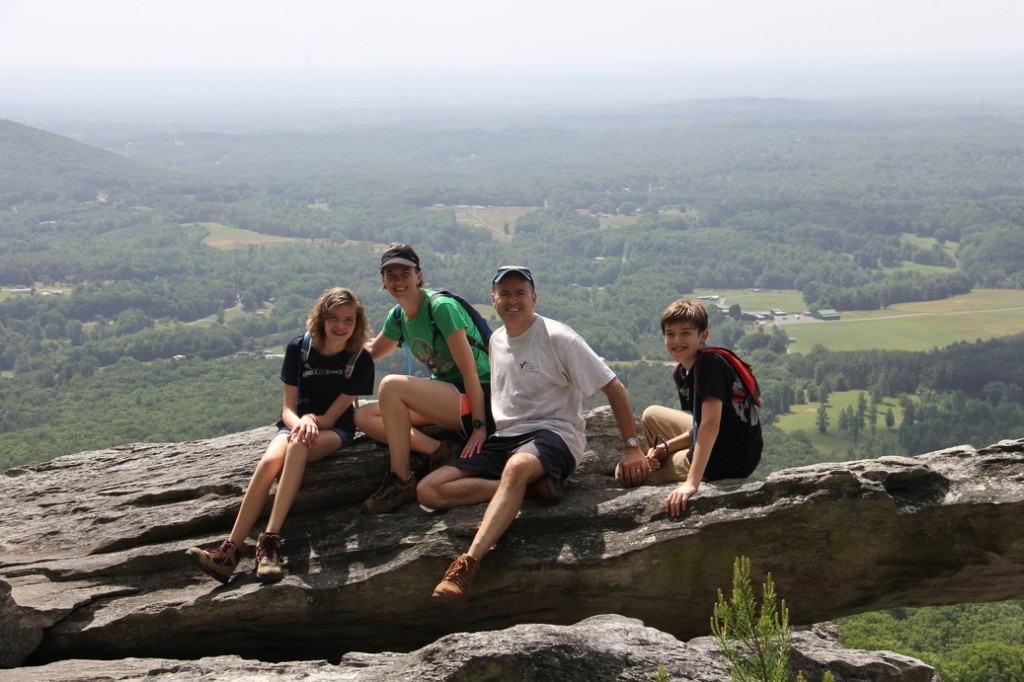 At Hanging Rock State Park