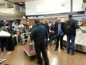 Baggage Carousel 10 at Seattle-Tacoma (SEATAC) Airport